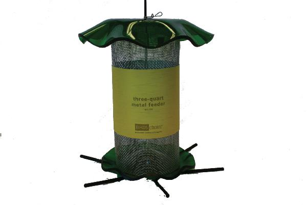 Bird's Choice 3 Quart Forever Nyjer Feeder