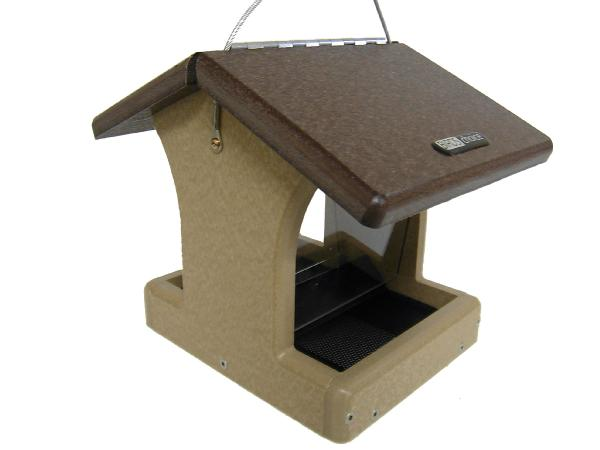 Bird's Choice Recycled 1-1/2 Quart 2-Sided Hopper w/Hanging Cable