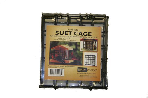 Bird's Choice Standard Suet Cage w/Mounting Screws & Chain