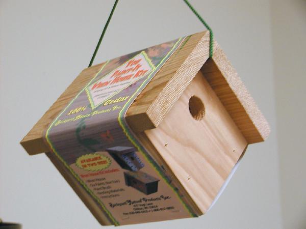 Bird's Choice You-Paint-It Wren House Kit