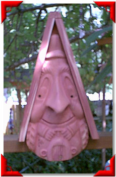 Gnome Birdhouse Farmer