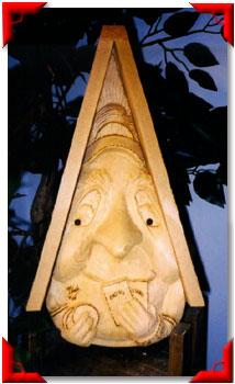 Gnome Birdhouse Gambler