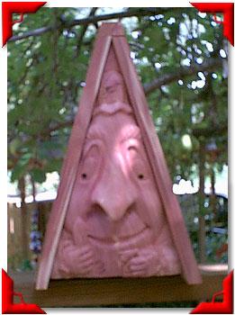 Gnome Birdhouse Gardener