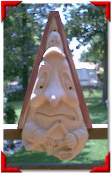 Gnome Birdhouse Golfer