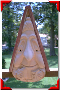 Gnome Birdhouse Grandma
