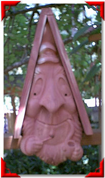 Gnome Birdhouse Sea Captain