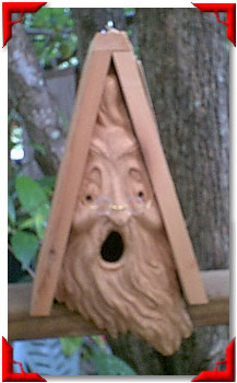 Gnome Birdhouse Small Spirit
