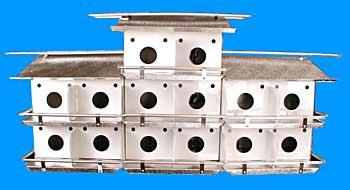 Coates Original 28 Room Purple Martin House