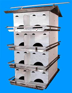 Coates Starling Resistant 16 Room Purple Martin House