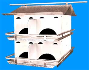 Coates Starling Resistant 8 Room Purple Martin House