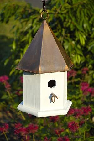 Heartwood Copper Songbird Birdhouse