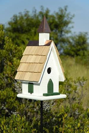 Heartwood Country Wildwood Church Birdhouse