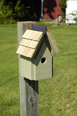 Heartwood Bungalow Birdhouse