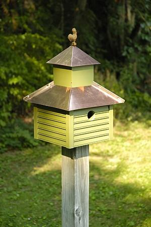 Heartwood Rusty Rooster Birdhouse