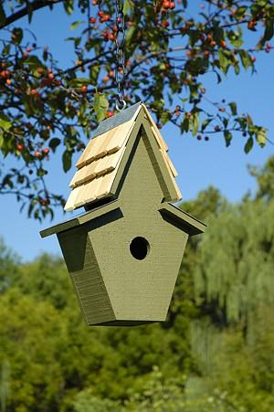 Heartwood Songbird Ranch Birdhouse