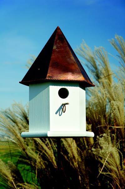 Heartwood DeluxeCopper Songbird Birdhouse