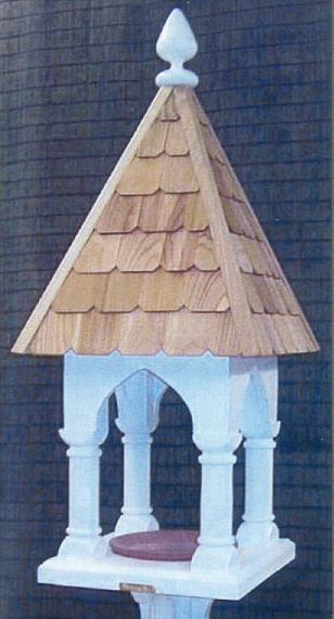 Lazy Hill Farm Designs Roman Feeder with Shingled Roof